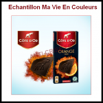 Echantillon Ma Vie En Couleurs : Côte d'Or Noir Orange - anti-crise.fr
