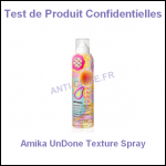 Test de Produit Confidentielles : Amika UnDone Texture Spray - anti-crise.fr