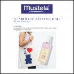 Tirage au Sort Mustela : 50 Huiles de soin vergetures Mustela 9 Mois à Gagner - anti-crise.fr
