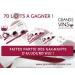 Instants Gagnants Grands Vins Privés sur Facebook : Bon d'achat de 100€ sur GrandsVins-Prives.com à Gagner - anti-crise.fr