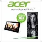 Offre de Remboursement Acer : 30 € pour l'achat d'une tablette Acer Iconia A3-A10 - anti-crise.fr