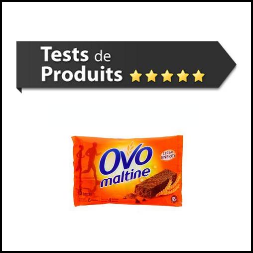 Tests de Produits : Barres Energétique aux Céréales de Ovomaltine - anti-crise.fr