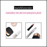 Tirage au Sort Bare Minerals : Un An de Maquillage à Gagner - anti-crise.fr