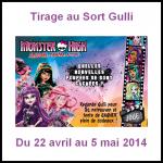 Tirage au Sort Gulli : 1 poupée Monster High Hauntlywood à Gagner - anti-crise.fr