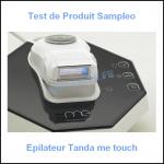 Test de Produit Sampleo : Epilateur Tanda mē touch - anti-crise.fr