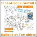 Echantillons La Fête des Voisins : Des Ballons et des Tee-Shirts - anti-crise.fr