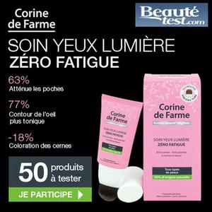 Test de Produit Beauté Test : Soin Yeux Lumière Zéro Fatigue de Corine de Farme - anti-crise.fr