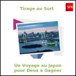 Tirage au Sort SFR : Un Voyage pour Deux au Japon - anti-crise.fr