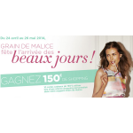 Tirage au Sort Grain de Malice : Cartes Cadeaux de 150 € à Gagner - anti-crise.fr
