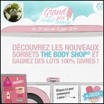 Concours à Scores The Body Shop sur Facebook : Une glacière The Body Shop® contenant 5 Sorbets Corporels à Gagner - anti-crise.fr