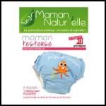 Test de Produit Maman Natur'elle : Maillot couche Slip Bébé nageur Piwapee - anti-crise.fr