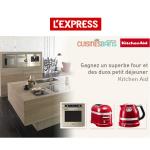 Tirage au Sort L'Express : Un four et des Duos Petit Déjeuner KitchenAid à Gagner - anti-crise.fr