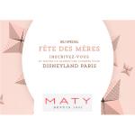 Tirage au Sort Maty : Un séjour pour quatre personnes à Disneyland Paris à Gagner - anti-crise.fr