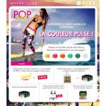 Instants Gagnants Gemey Maybellyne sur Facebook : 1 week-end de surf à Biarritz pour deux à Gagner - anti-crise.fr