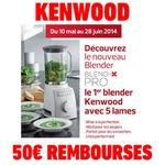 Anti-crise.fr offre de remboursement 50 euros sur blender kenwood