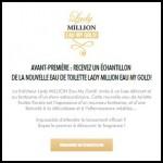 Echantillon Paco Rabanne : 9500 Eau My Gold Gratuits - anti-crise.fr