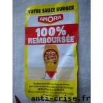 Offre de Remboursement Pains Jacquet et Sauce Burger Amora - anti-crise.fr
