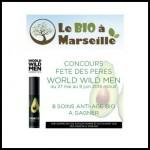 Tirage au Sort Le Bio à Marseille : Soin anti-âge Bio World Wild Men à Gagner - anti-crise.fr