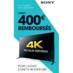 Offre de Remboursement Sony : Jusqu'à 400 € remboursés pour l'achat d'une TV 4K X85 - anti-crise.fr