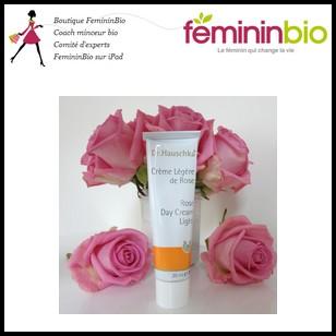 Test de Produit Fémini Bio : Crème de jour à la rose de Dr. Hauschka - anti-crise.fr