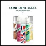 Test de Produit Confidentielles : Shampoing sec Batiste - anti-crise.fr