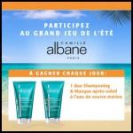 Instants Gagnants Camille Albane sur Facebook : Un Duo Shampooing et Masque après-soleil à l'eau de Source Marine à Gagner - anti-crise.fr