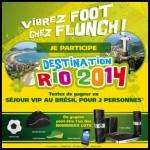 Instants Gagnants Flunch sur Facebook : 1 séjour VIP au Brésil pour 2 personnes à Gagner - anti-crise.fr