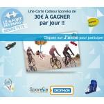 Instants Gagnants Sporeka sur Facebook : 1 Carte Cadeau Sporeka de 30 € à gagner - anti-crise.fr