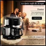 Tirage au Sort Krups sur Facebook : Machine Café & Latte de Krups à Gagner - anti-crise.fr