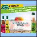 Tirage au Sort Jardin d'Orante sur Facebook : Sauce Salade à Gagner - anti-crise.fr