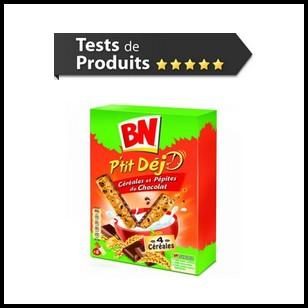 Tests de Produits : P'tit Déj céréales et pépites de chocolat de BN - anti-crise.fr