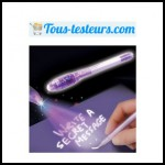 Test de Produit Tous Testeurs : Les stylos à encre « magique » - anti-crise.fr