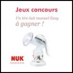 Instants gagnants Nuk : Un tire-lait manuel Easy à Gagner - anti-crise.fr