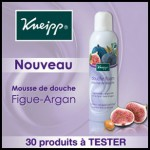 Test de Produit Beauté Addict : Mousse de Douche Figue Argan - anti-crise.fr