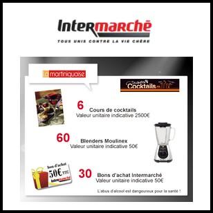 Tirage au Sort Intermarché : Cours de cocktails d'une valeur de 2 500 € à Gagner - anti-crise.fr