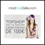 Tirage au Sort MadmoiZelle : Un bon d'achat de 100€ à Gagner - anti-crise.fr