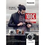 Offre de Remboursement Panasonic : 100 € Remboursés sur les Lumix GM1 - anti-crise.fr