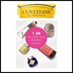 Tirage au Sort L'Occitane : 1 an de produits L'Occitane en Provence à Gagner - anti-crise.fr