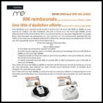 Offre de Remboursement Tanda Mé : 50€ remboursés ou Une tête d'épilation offerte - anti-crise.fr