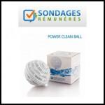 Test de Produit Sondages Rémunérés : Boule de lavage Power Clean Ball - anti-crise.fr