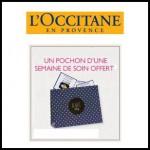 Echantillons L'Occitane : Votre semaine de soin offerte - anti-crise.fr