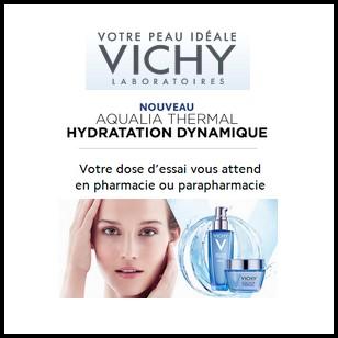 Echantillon Vichy : Votre dose d'essai Aqualia Thermal - anti-crise.fr