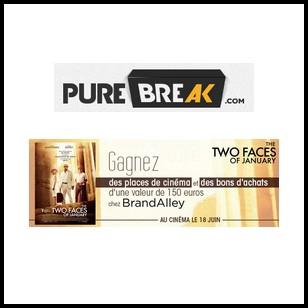 Tirage au Sort Pure Break : Bon d'achat de 150€ chez Brand Alley à Gagner - anti-crise.fr