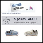 Tirage au Sort Minute Facile : Chaussures Faguo à Gagner - anti-crise.fr