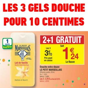 Bon Plan 3 Gels Douche Pour 10 Centimes Chez Carrefour Catalogues Promos Bons Plans Economisez Anti Crise Fr
