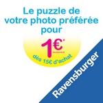 bon plan ravensburger puzzle photo pour un euro