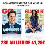 bon plan shopmium abonnement gq et glamour à 23 euros