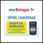Offre de Remboursement (ODR) Butagaz : Jusqu'à 15 € remboursés pour l'achat d'un chauffage + une Viseo ou Cube - anti-crise.fr