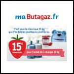 Offre de Remboursement (ODR) Butagaz : 15€ remboursés pour deux charges 13kg achetées - anti-crise.fr