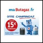 Offre de Remboursement (ODR) Butagaz : jusqu'à 15€ sur barbecue ou parasol chauffant Campingaz - anti-crise.fr